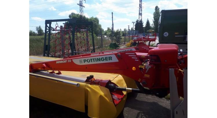 Žací stroj Pöttinger Novacat S12
