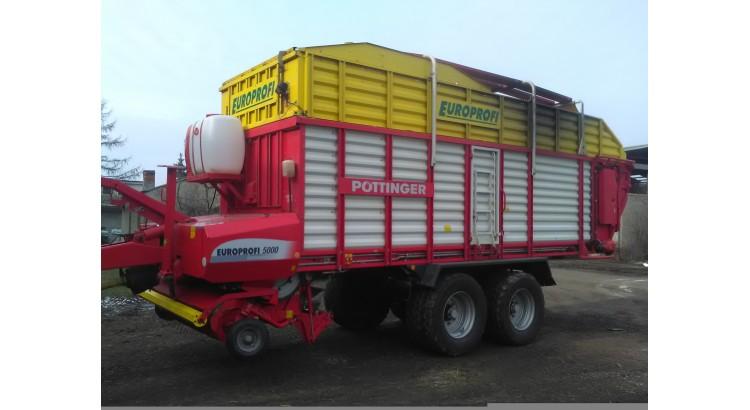 Senážní vůz Pöttinger - EUROPROFI 5000 D