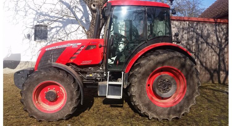 Kolový traktor Zetor Proxima Power 120