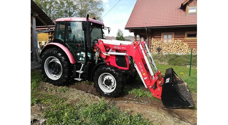 Traktor Zetor Z-8841 + čelní nakladač TL-120 SL
