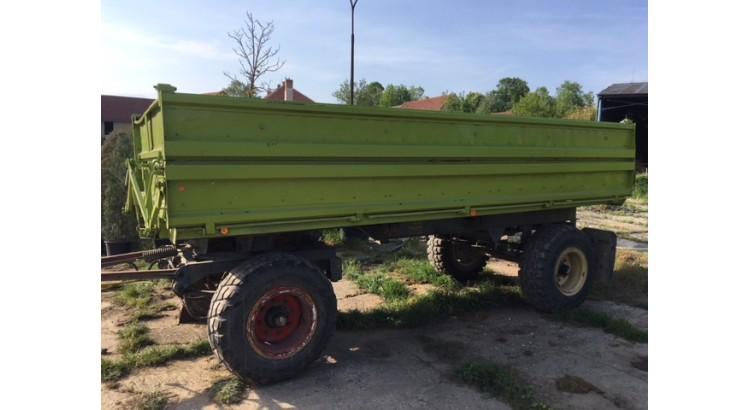 Traktorový přívěs Fortschritt HW 80.11 (na prodej 2 ks)