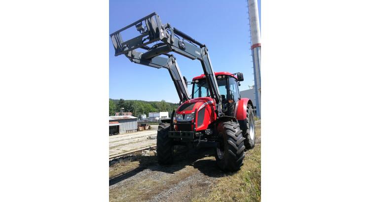Traktor Zetor Forterra 130 HSX + čelní nakladač Quicke Q56