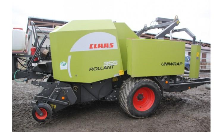 Lis Claas Rollant 355 Uniwrap