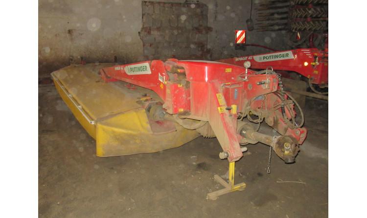 Žací stroj Pöttinger Novacat 402