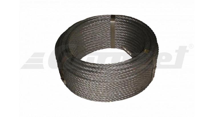Lano ocel. 12,5mm 50m/TD Seal 114 drátů