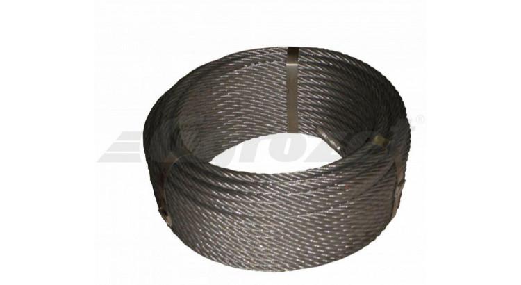Lano ocel. 10mm 50m/DD Seal 114 drátů