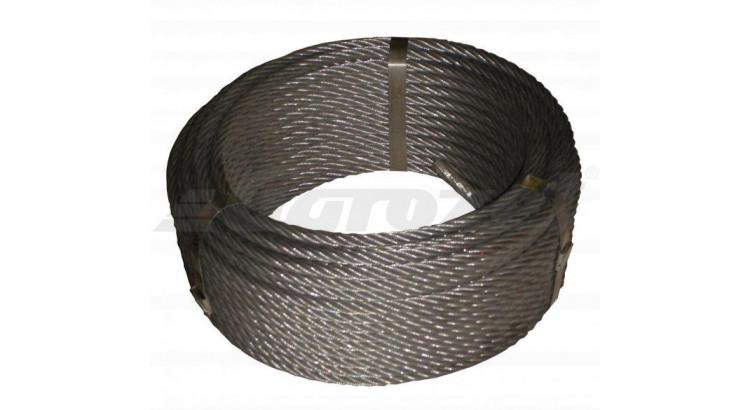 Lano ocel. 10mm 30m/DD Seal 114 drátů