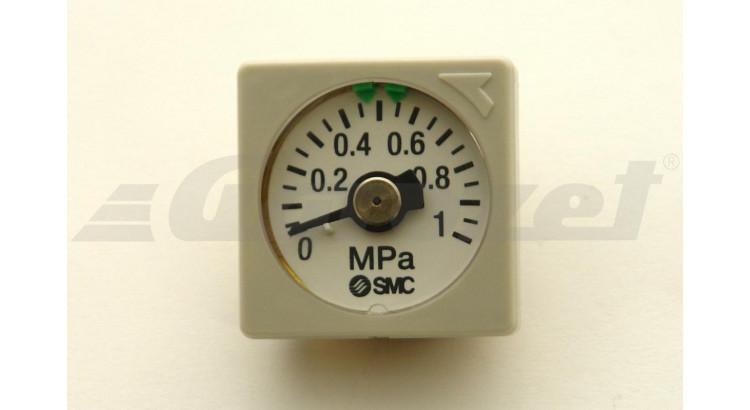 Manometr SMC vest. GC3-10AS