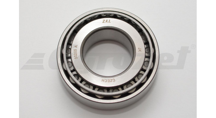 Ložisko kuželíkové 30205 A ZKL