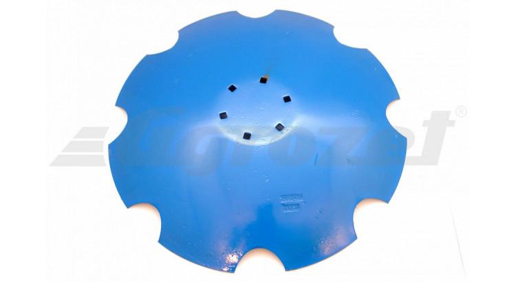 Disk zubatý 620x6 mm 6xdíra