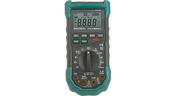 Multimetr digitální MASTECH MS 8229
