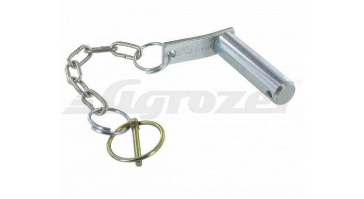 Čep přidržovače s řetízkem L=82mm, pr. 20mm