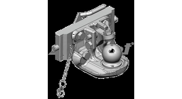 Závěs K80 - 310/28/22 H=120mm