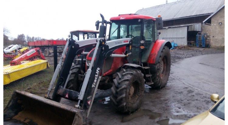 Traktor Zetor Forterra HSX 130 + TL 340 SL