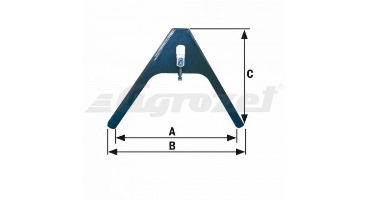 Fliegl nosný trojúhelník – protikus