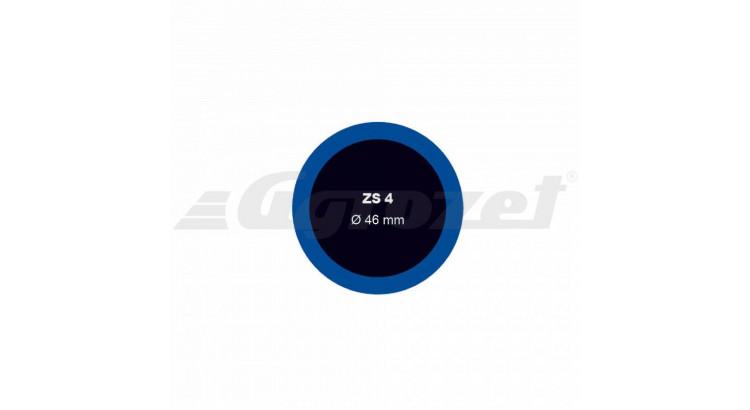Záplata ZS 4 na opravu duší - průměr 46 mm