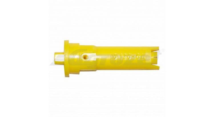 Tryska Lechler injektorová žlutá plastová