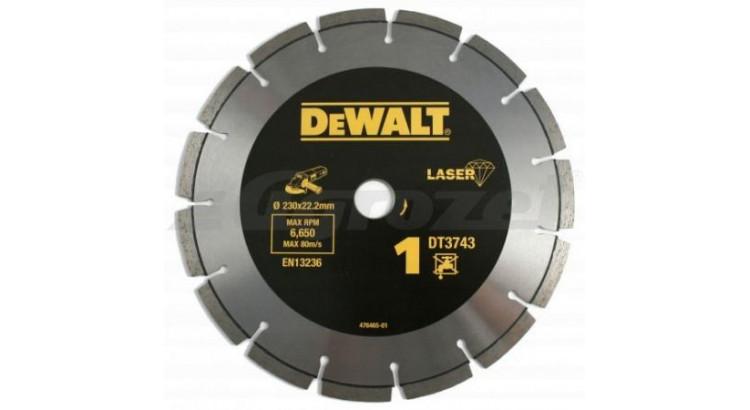 DeWALT DT3743 Kotouč diamantový 230 x 22,2mm