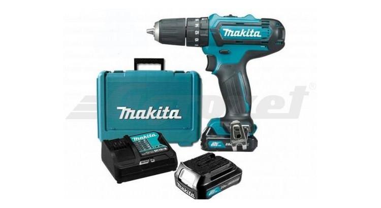 Makita HP331DSAX1 Akušroubovák příklepový 10,8V 2,0Ah s příslušenstvím