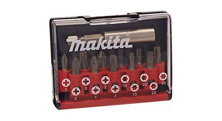 Makita D-31083 Sada bitů PZ/PH/TX s nástavcem (7870786)