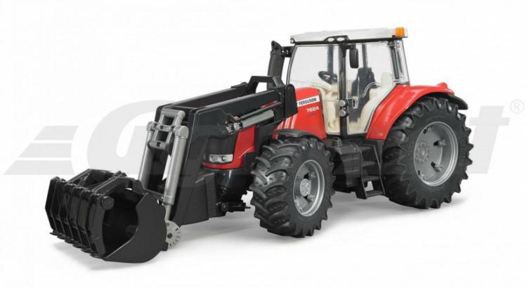Traktor Massey Ferguson 7624 s nakladačem Bruder 03047