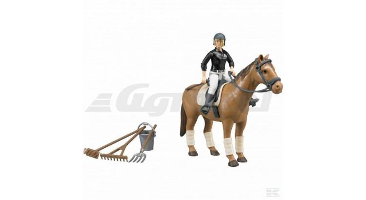 Bworld kůň, jezdkyně 62505