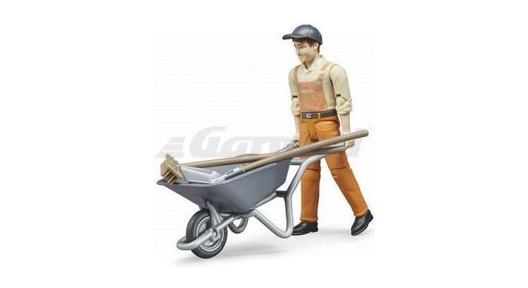 Set stavební dělník Bruder 62130