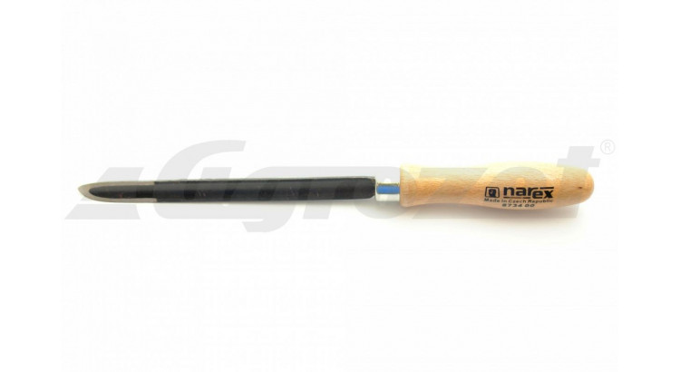 Narex 873400 Škrabák tříhranný vydutý