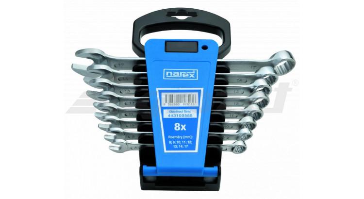 Narex 443100585 Sada klíčů 8dílná očkoplochých plast. držák