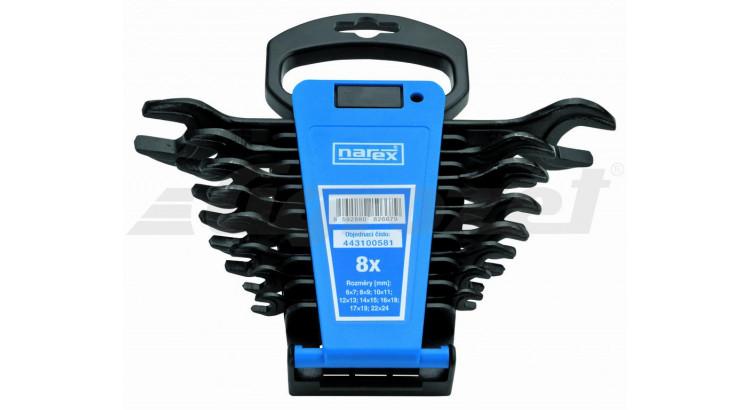 Narex 443100581 Sada klíčů 8dílná plast. držák