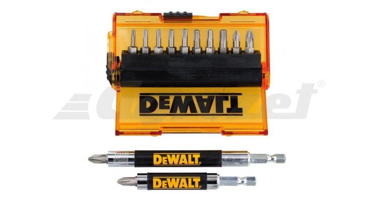DeWALT DT71570 Sada bitů 10ks + 2ks nástavců s bitem