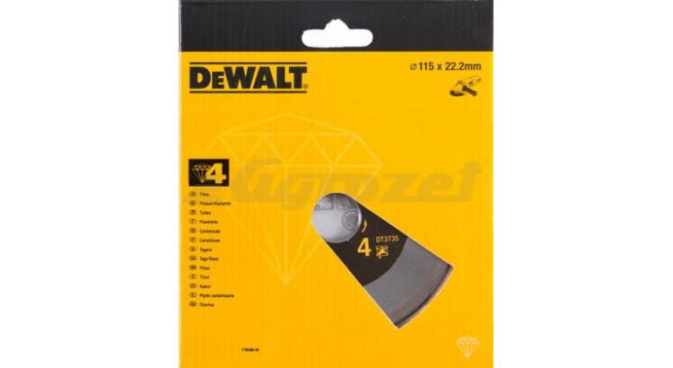 DeWALT DT3735 Kotouč diamantový 115mm (2065035)