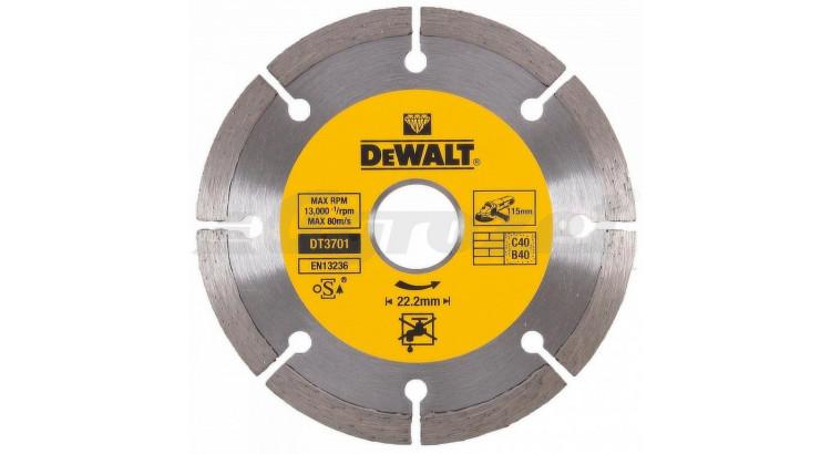 DeWALT DT3701 Kotouč diamantový 115mm (7887852)
