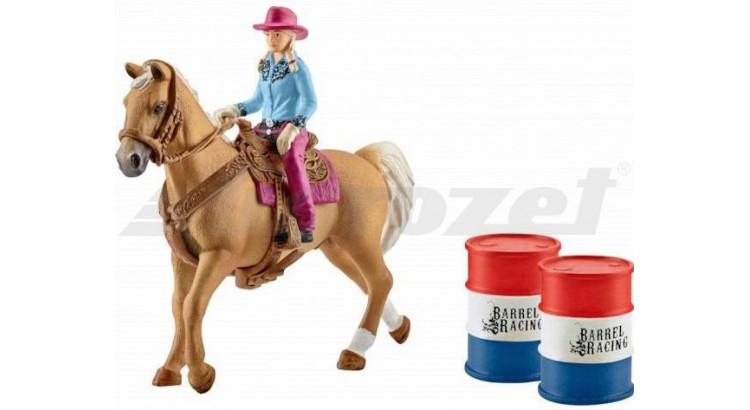Schleich 41417 Westernová jezdkyně s příslušenstvím