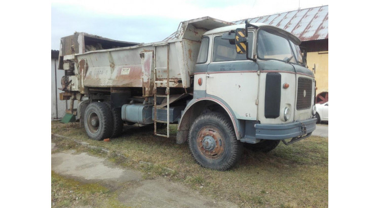Nákladní automobil Liaz MTS bez rozmetací nástavby