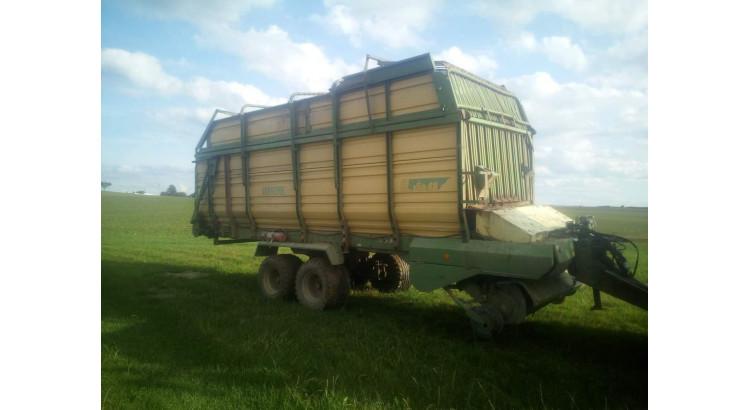 Sběrací vůz Krone 48 m3