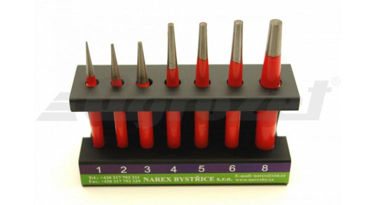 Narex 854500 Sada průbojníků 7dílná 1-8mm