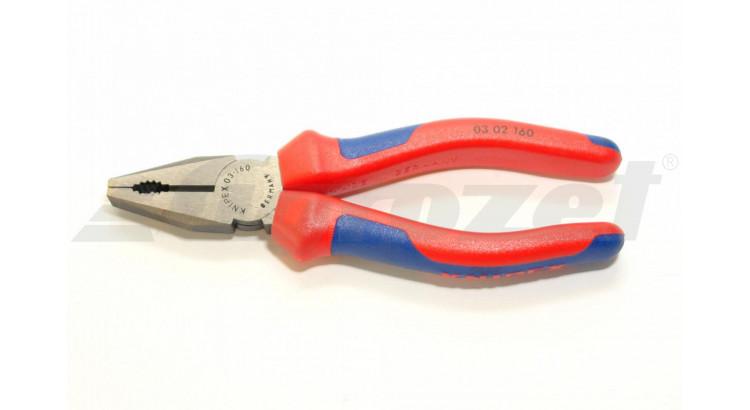 Knipex 0302160 Kombinované kleště 160 PVC
