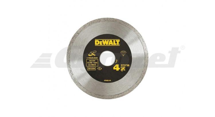 DeWALT DT3736 Diamantový Laser kotouč na obklady a dlažbu 125X22,2MM