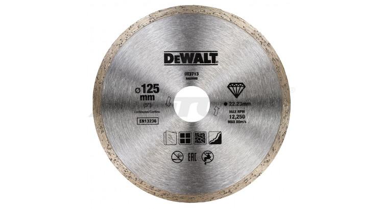 DeWALT DT3713 Diamantový kotouč pro suché řezání 125x22,2mm
