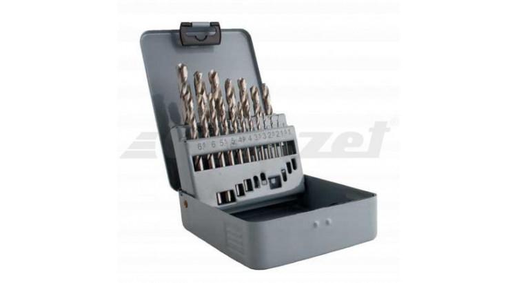 Magg 224019 Sada vrtáků HSS-G vybrušované 19ks (1,0-10,0mm), plech