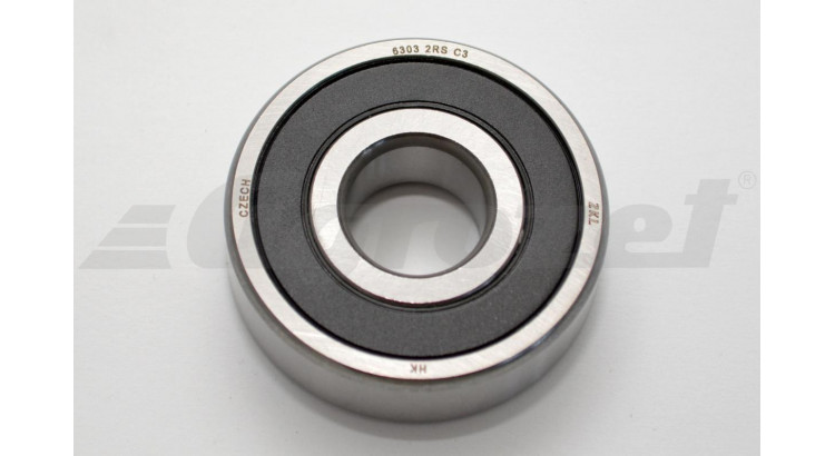 Ložisko kuličkové 6303-2RS C3 ZKL