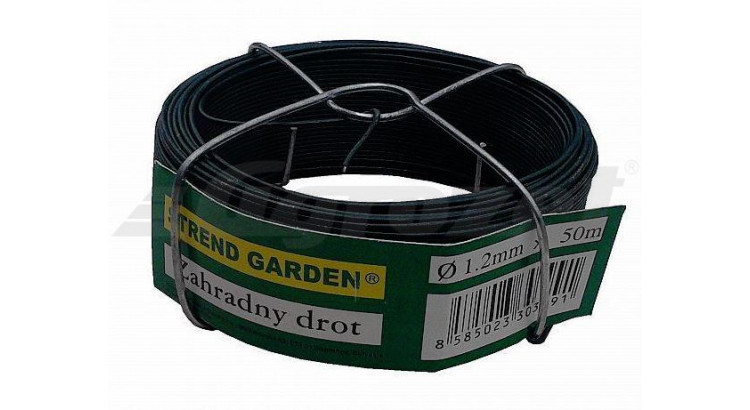 Strend Garden 73120 Drát vázací PVC 1,2/50 m zelený