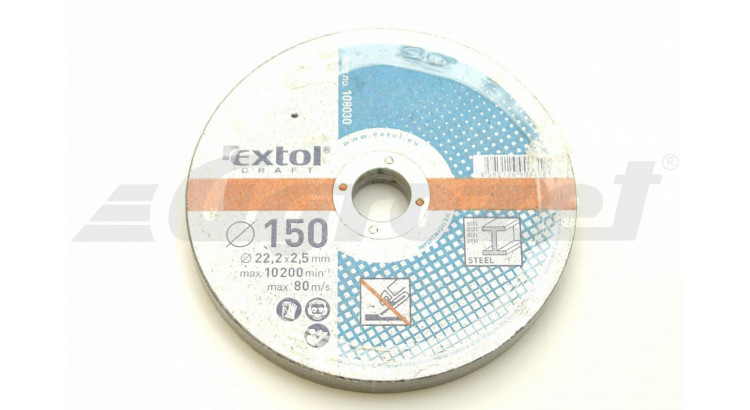 Extol 108030 Kotouč řezný na kov 150x2,5; 5 ks.