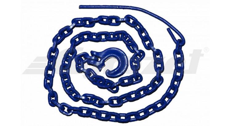 Úvazek řetězový 8mm/2,5m modrý