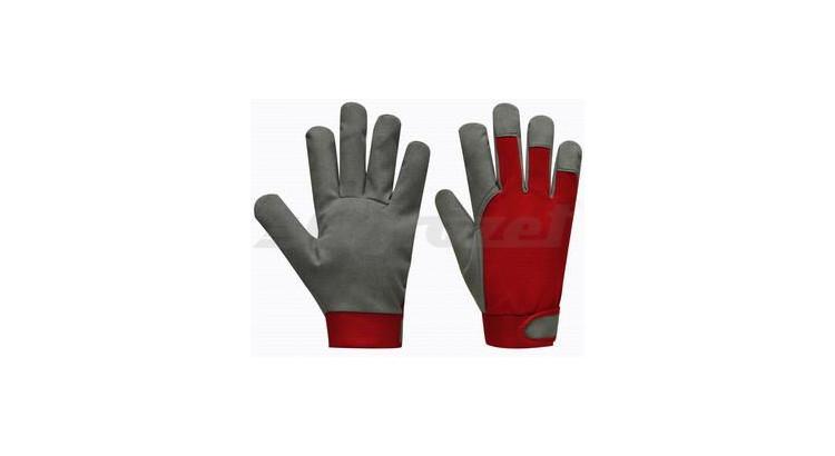 Gebol Pracovní rukavice UNI FIT ECO velikost 9, červené - blistr