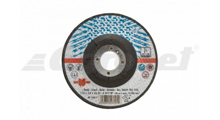 Würth 0669101802 Kotouč brusný W, ocel 180x2