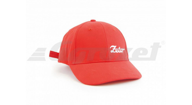 Zetor Čepice červená