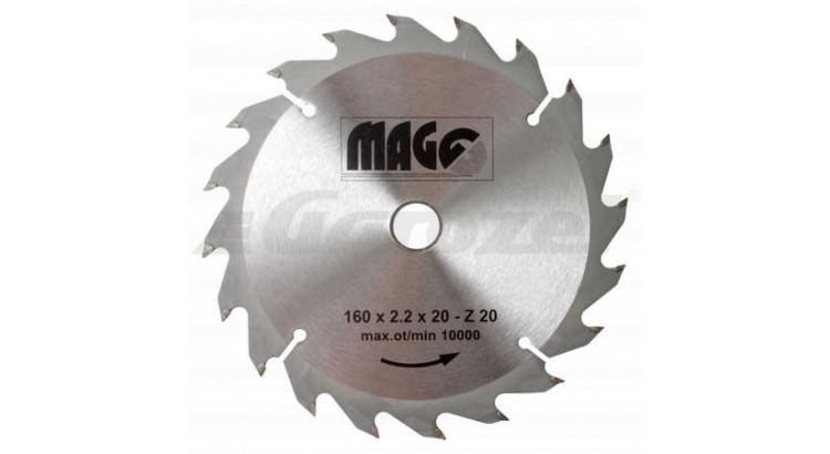 Magg 9116020 Kotouč pilový 160x2,2x20-20z sš