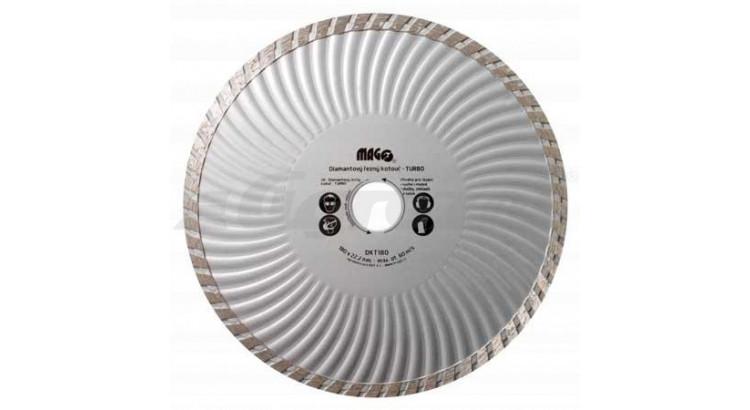 Magg DKT180 Kotouč diamantový TURBO 180x22,2